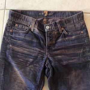 7 for all Mankind corduroy acid wash pants